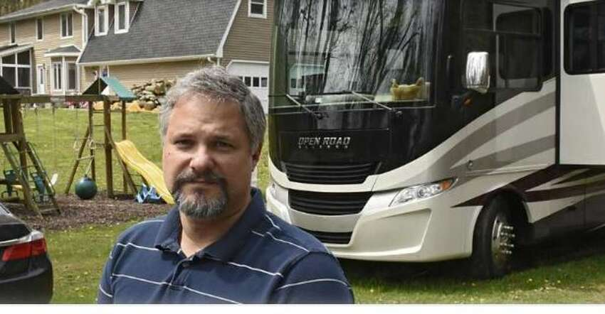 RV parks in Rensselaer County should be opening up this week, said County Executive Steve McLaughlin. Snowbirds like Roy Jacobsen and his wife Marrisa have been waiting to set up camp.