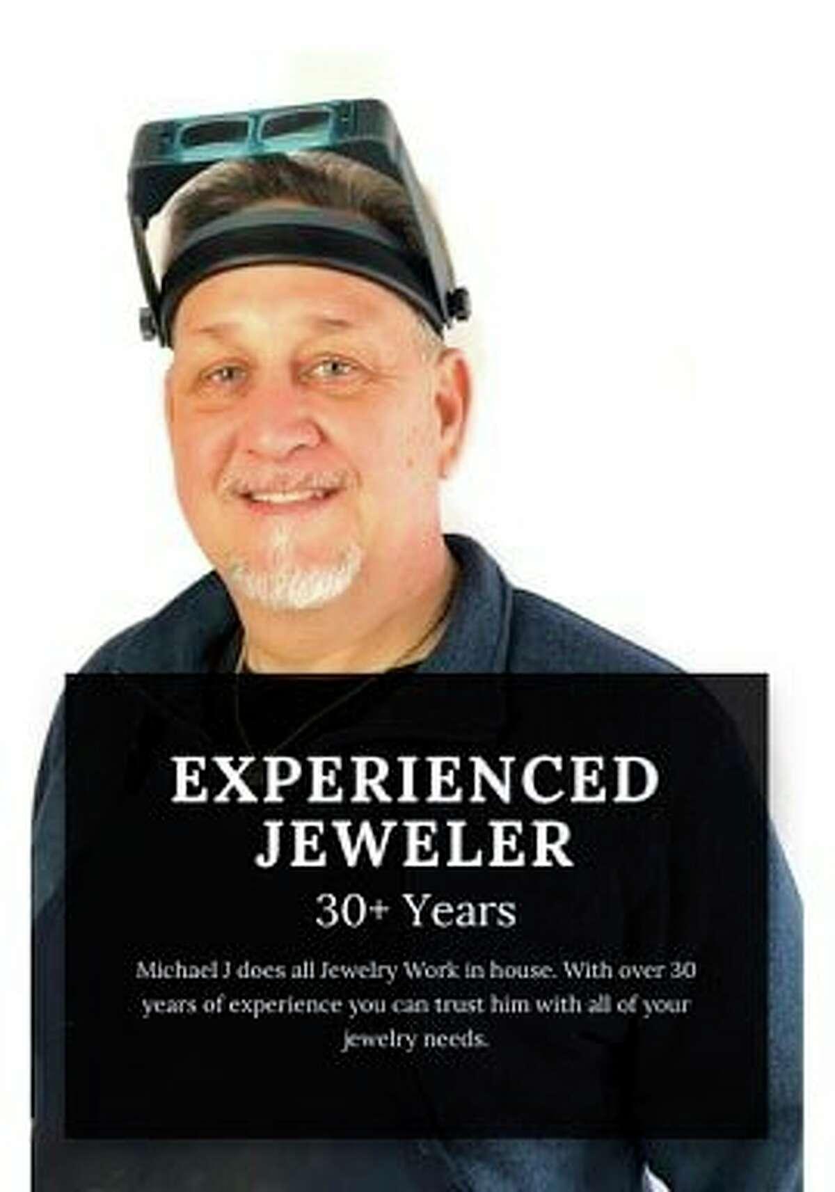 Michael Affholter of Michael J'sDesign Studio & Goldsmith Shop. (Courtesy Photo)