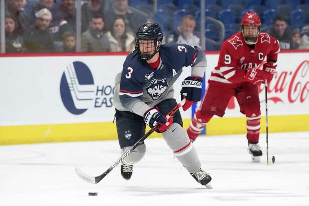 Ridgefield's Adam Karashik has been named captain of the UConn men's hockey team.