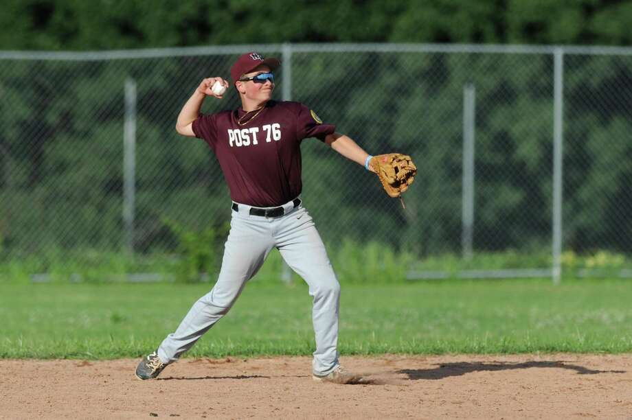 Members of American Legion Zone II, which includes North Haven Post 76, are looking at putting together their own league this summer. Photo: Michael Cummo / Hearst Connecticut Media / Stamford Advocate