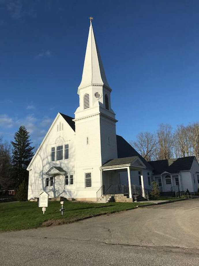 Members of Sherman Congregational Church in Sherman, Conn., are finding creative ways to stay in touch and worship during the coronavirus pandemic. Photo: Courtesy Of Sherman Congregational Church / Danbury News Times