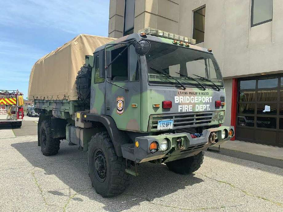 The Bridgeport, Conn., Fire Department said on Tuesday, May 19, 2020, that this piece of equipment was put into service. Photo: Contributed Photo / Bridgeport Fire Department