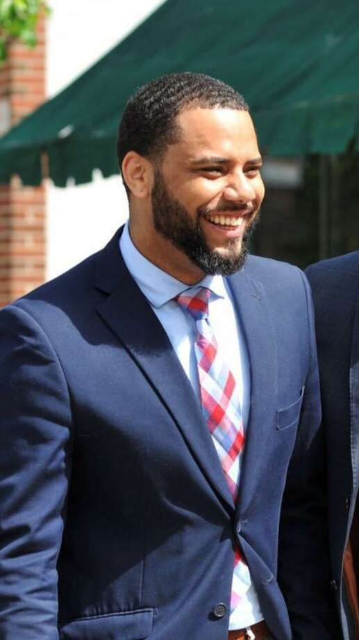 Bridgeport Councilman Marcus Brown won the endorsement of the Democratic party over incumbent State Senator Marilyn Moore during a nominating convention for the 22nd State Senatorial district Tuesday night. Photo: Contributed Photo / / contributed photo