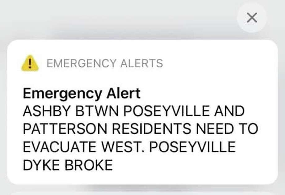 This alert was sent out early Wednesday morning.