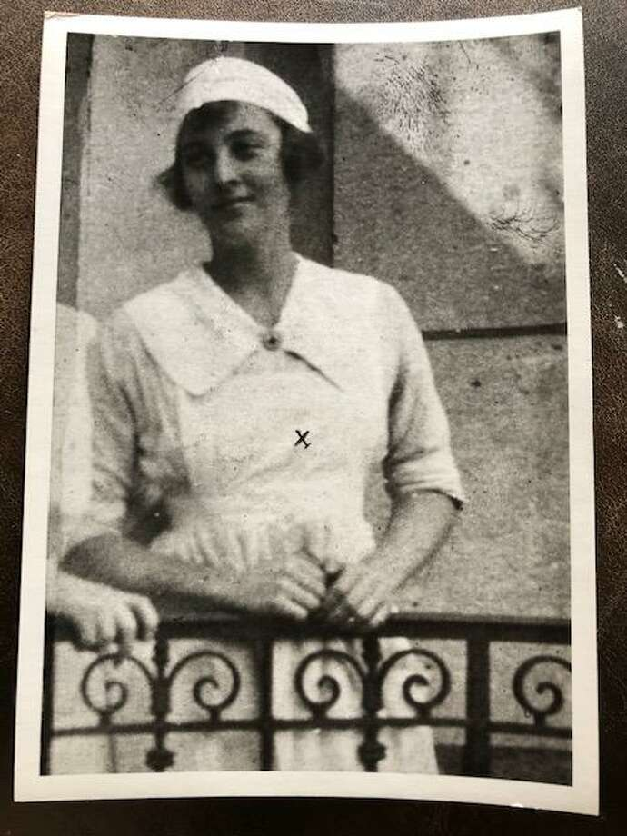Helen Chase, the grandmother of Darien's Nina Miller, who was a nurse in World War I. Photo: Contributed