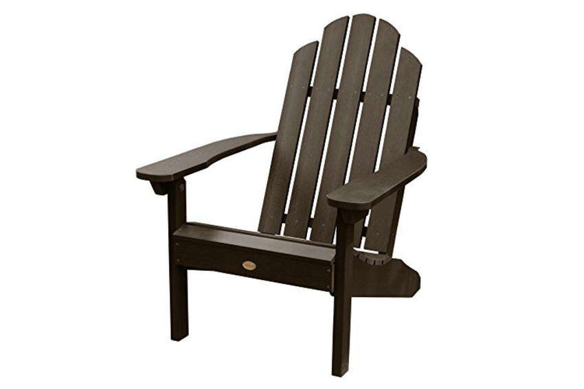Highwood Classic Westport Adirondack Chairamazon.com$212.89 (24% off)The appeal of synthetic wood in outdoor furnishings can be summed up in two words: Low. Maintenance.This recycled-plastic, weatherproof pick is available in a spectrum of 11 shades, and it'll keep the same sophisticated look year after year, with just a quick cloth wipe-down needed to restore it to good-as-new condition.
