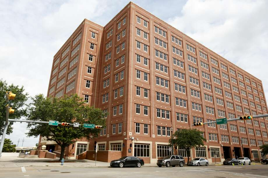 The Harris County Jail building at 701 N. San Jacinto Street in Houston (File photo) Photo: Elizabeth Conley/Staff Photographer / ? 2020 Houston Chronicle