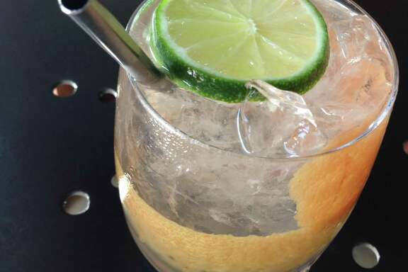 Eight Row Flint in the Heights offers Ranch Water, a carbonated margarita made with sotol and clarified lime juice.