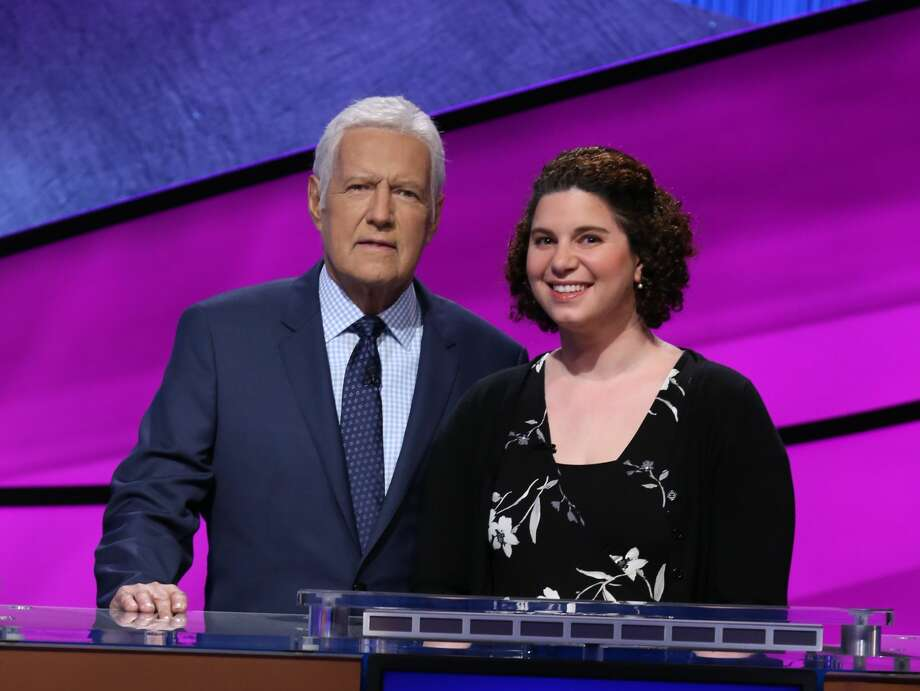 """Lauren Schneider Lipton, a 9th-12th grade health teacher from Seattle, will compete in the 2020 """"Jeopardy!"""" Teachers Tournament. Photo: Courtesy Jeopardy Productions, Inc.  / © 2020 Califon Productions, Inc."""