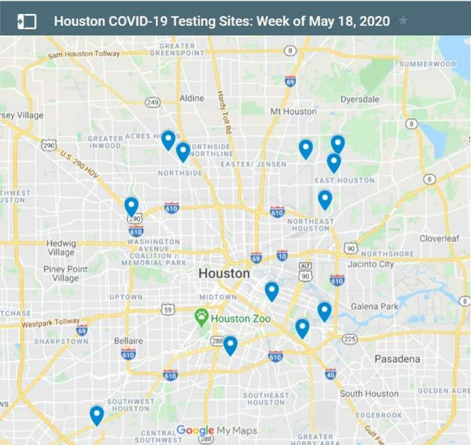 Anyone, regardless of symptoms, may receive a free COVID-19 test at any of these drive-thru testing sites