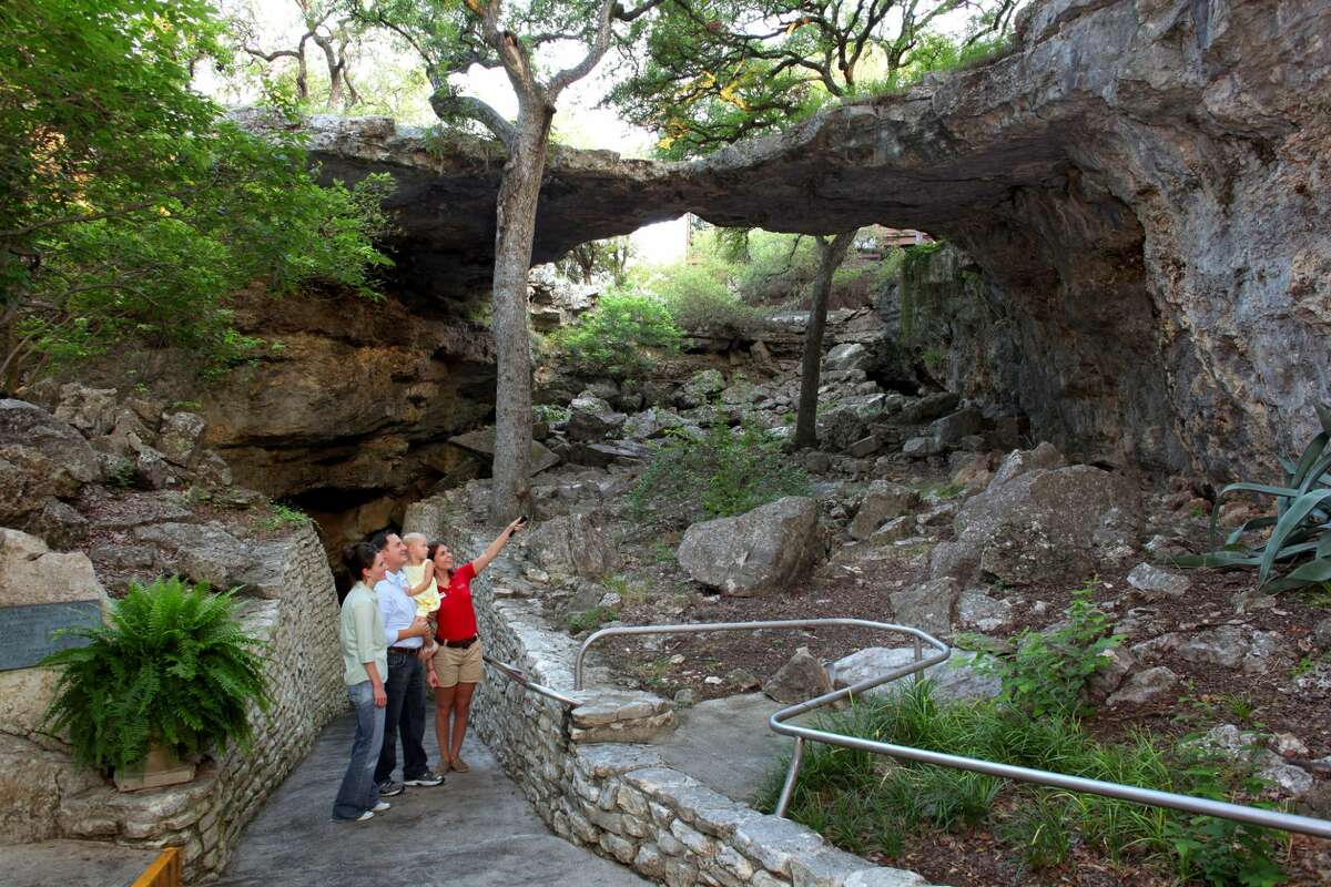 Natural Bridge Caverns26495 Natural Bridge Caverns RdSan Antonio, Texas Cavern tour tickets are now available online and guests are encouraged to purchase tickets in advance due to limited tour capacities.
