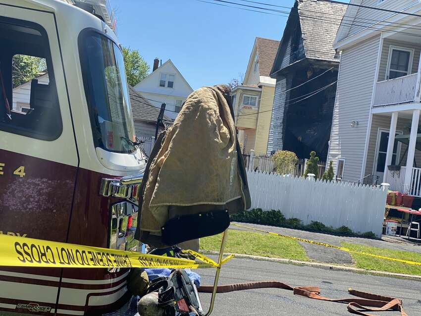 Firefighters are investigating a fire and series of explosions at an Elmer Avenue, Schenectady home where a man's body was found on Wednesday, May 20, 2020.