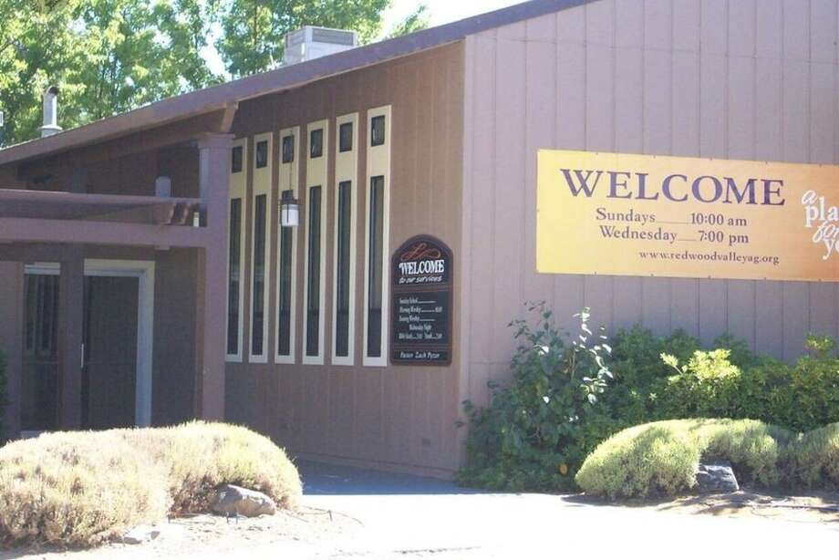 A pastor tested positive for COVID-19 after live streaming a Mother's Day service in Mendocino County. Photo: Yelp / David P.