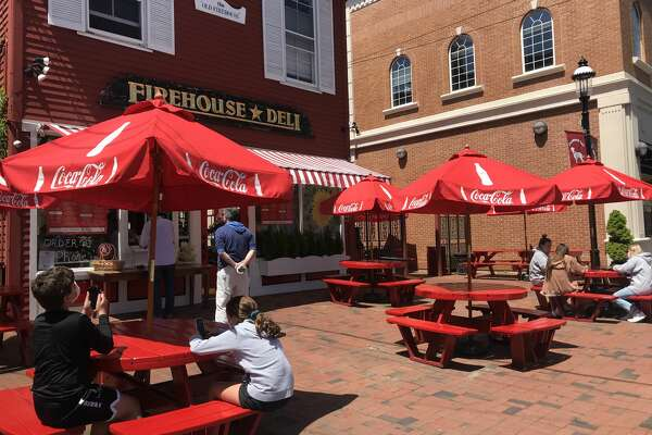 Firehouse Deli, in Fairfield, is seeing steady business as the state enacts phase 1 of reopening the economy on May 20, 2020.