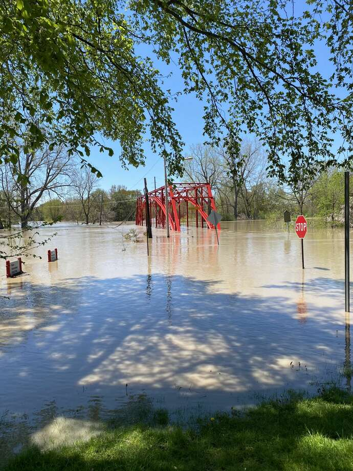 A scene from Midland's flood on May 20, 2020. Photo: Submitted By: Charles Serrano