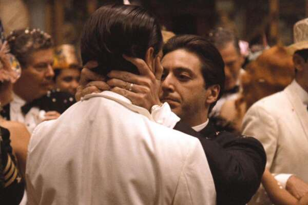 #2. 'The Godfather: Part II' (1974) - Director: Francis Ford Coppola - IMDb user rating: 9 - Run time: 202 minutes - Metascore: 90 Saddled with keeping his family in power, Michael Corleone, played by Al Pacino, squares off against a new adversary in this exalted sequel. The story also jumps back in time to show how the whole saga began, with Robert De Niro playing young Vito Corleone. Director Francis Ford Coppola retained total control during production, even as he visited multiple locations. This slideshow was first published on Stacker