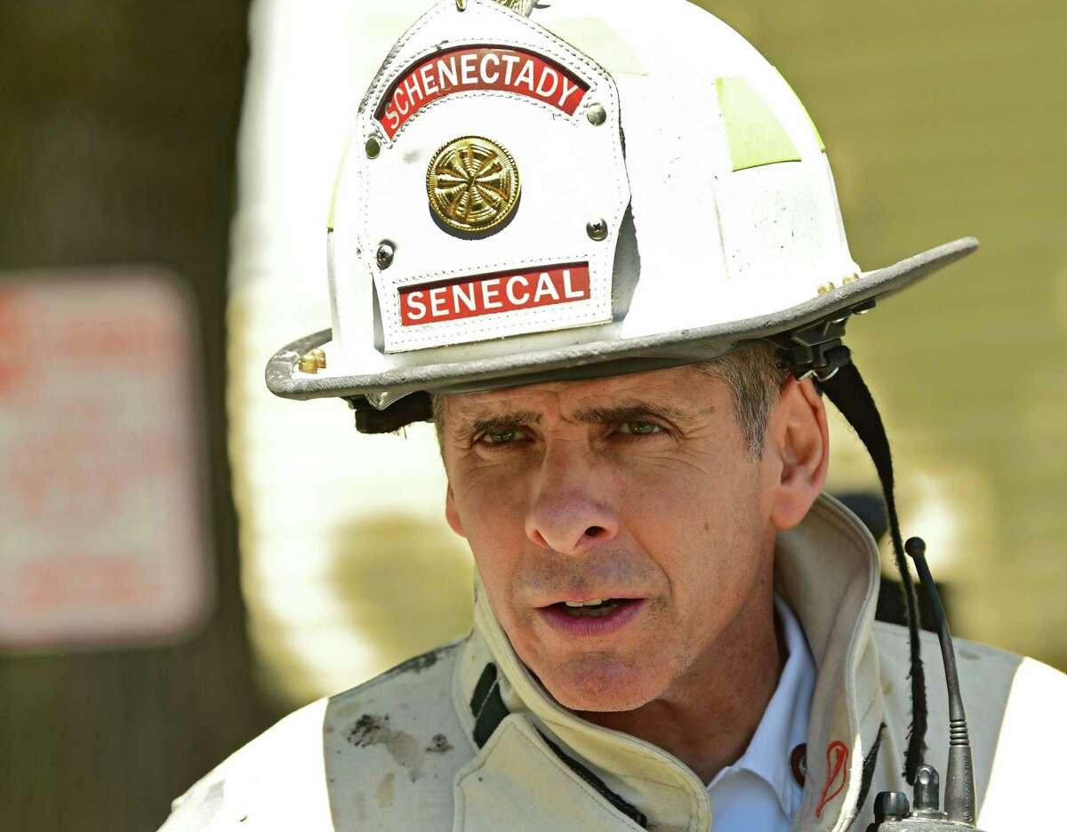 Schenectady Fire Chief Ray Senecal (Lori Van Buren/Times Union)