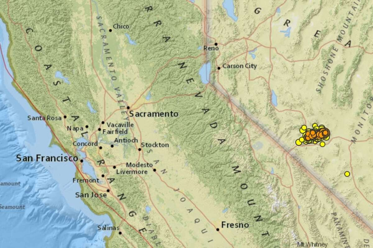 A search on theUSGSwebsite reveals that more than 500 quakes of magnitude 2.5 and above have hit near Tonopah in western Nevada since a 6.5 quake struck on May 15, 2020.