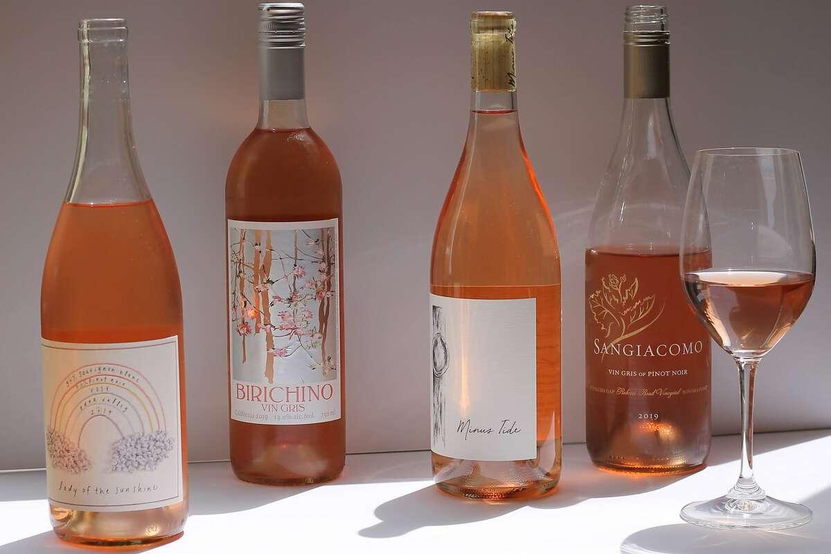 2019 rose wines from Lady of the Sunshine, Birichino, Minus Tide and Sangiacomo.
