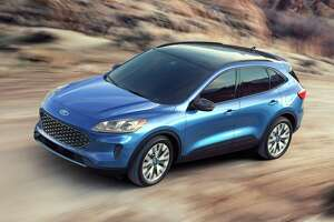 Extensively redesigned, the 2020 Ford Escape is available as a hybrid or plug-in hybrid CUV.