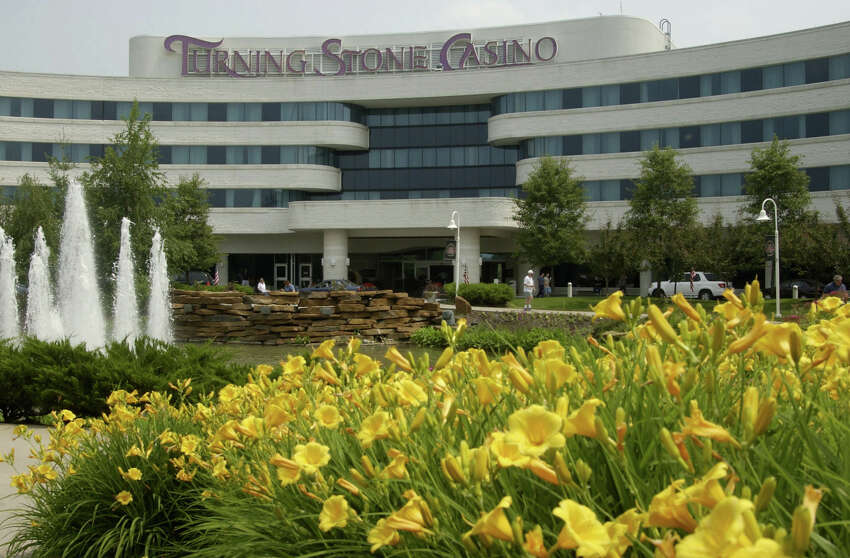 The Oneida County-based Turning Stone would be the second Indian-owned facility in New York to open - the Cayuga nation's Lakeside Entertainment video slot parlor in Union Springs, Cayuga County, opened on May 15.