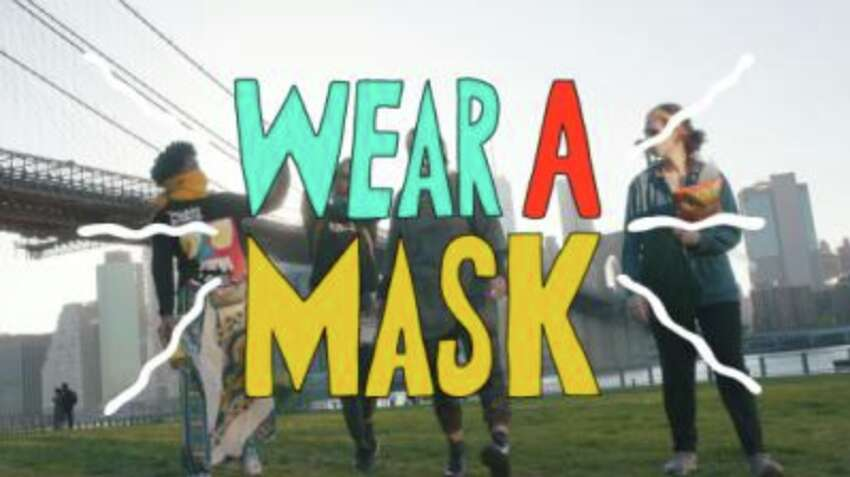 Two weeks ago, New York Governor Andrew M. Cuomo put out a call for videos communicating the importance of wearing a mask to stop the spread of the Coronavirus.