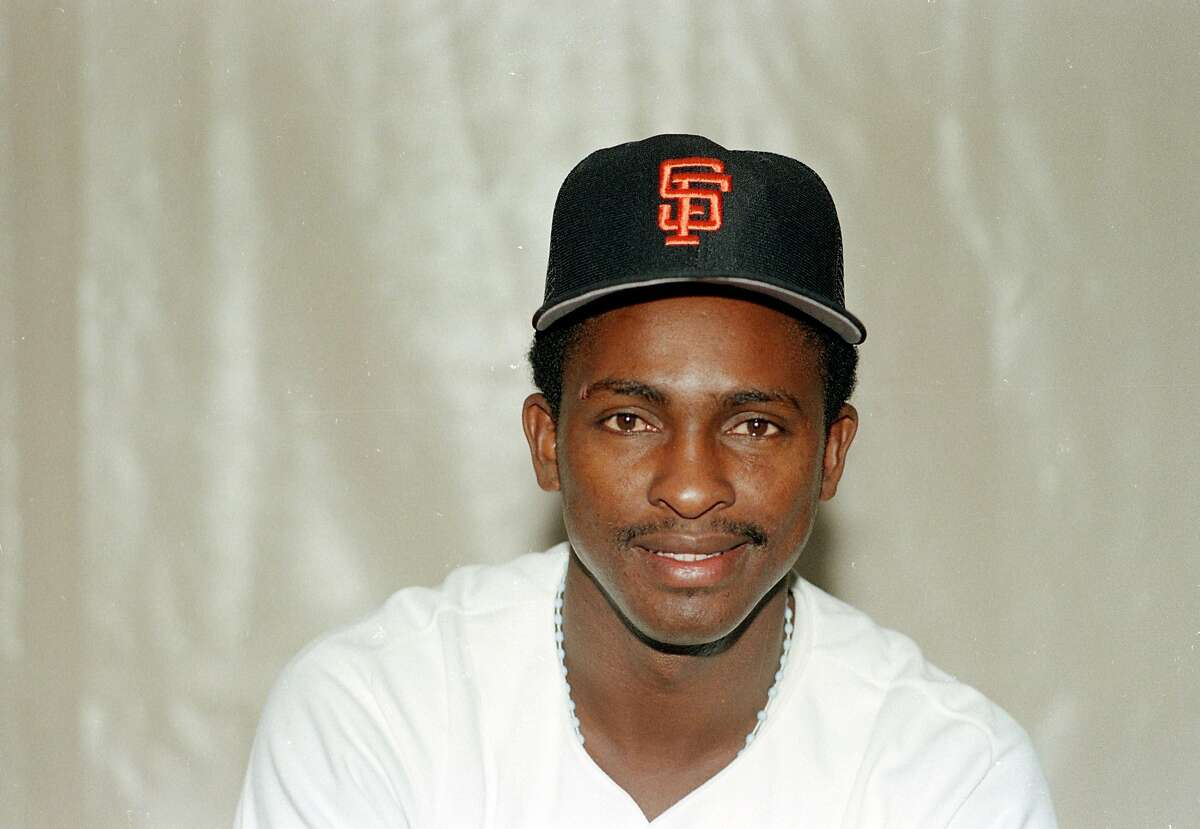 San Francisco Giants infielder Jose Uribe is shown in this 1988 photo. (AP Photo)