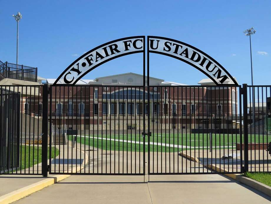 """A stadium naming rights deal between CFISD and Cy-Fair Federal Credit Union, approved by the CFISD Board of Trustees last month, will name the Berry Center stadium """"Cy-Fair FCU Stadium"""" effective July 1. Photo: Cy-Fair ISD"""