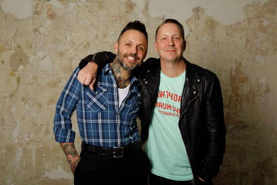 Justin, left, and brotherJeremyFurstenfeld of Blue October Photo: Abel Longoria / Abel Longoria