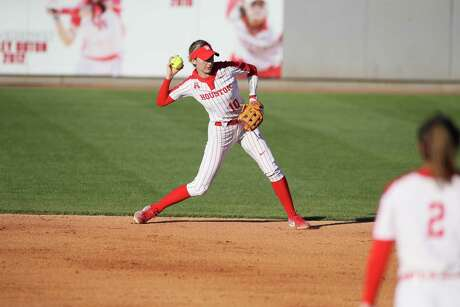 After a transfer from LSU, Becca Schulte took over as starting second baseman for the University of Houston softball team during an abbreviated 2020 season.