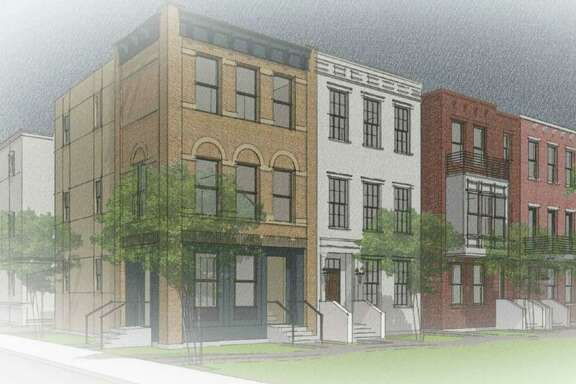 Terramark Urban Homes is planning to build a cluster of row houses on the near East Side.