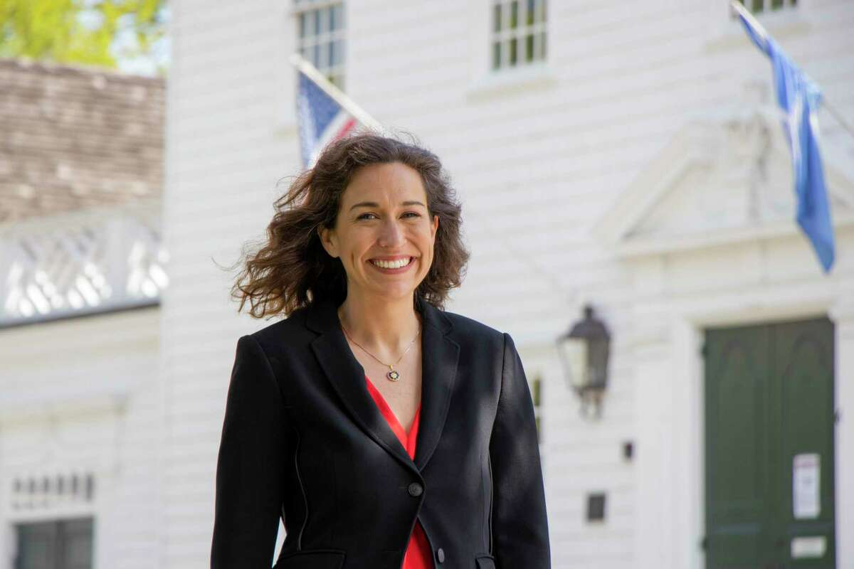 Carla Volpe, who Democrats unanimously nominated to run for the 134th Connecticut House of Representatives seat in a convention on Monday night.