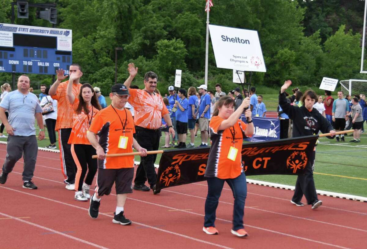Chelsea Dolny, third from left, has competed in Special Olympics for 20 years and is looking forward to competing in the 2020 Games, which will be done virtually due to the coronavirus pandemic.