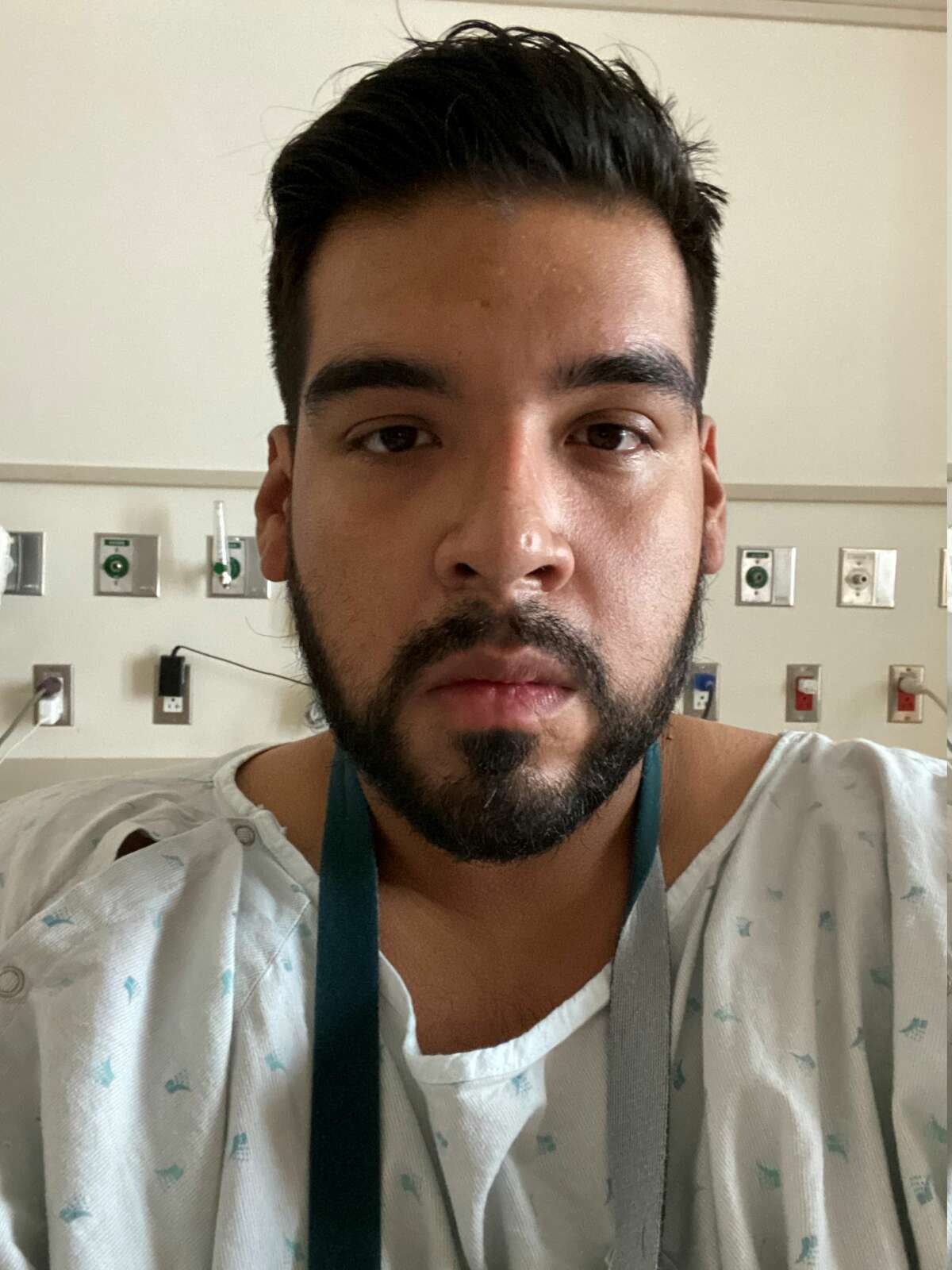 Once at Houston Methodist, Perez said he went to the emergency room, where they took X-rays and gave him another test that came back positive for COVID-19 within a few hours.