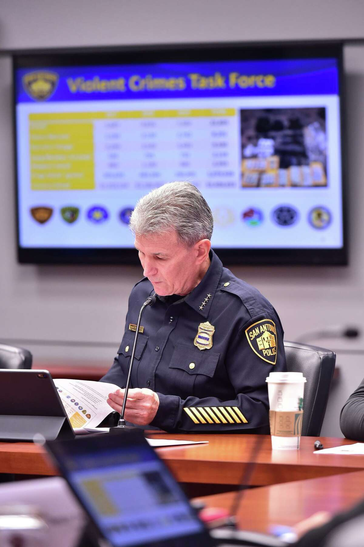 San Antonio Police Chief William McManus took disciplinary actions after five police officers recently.