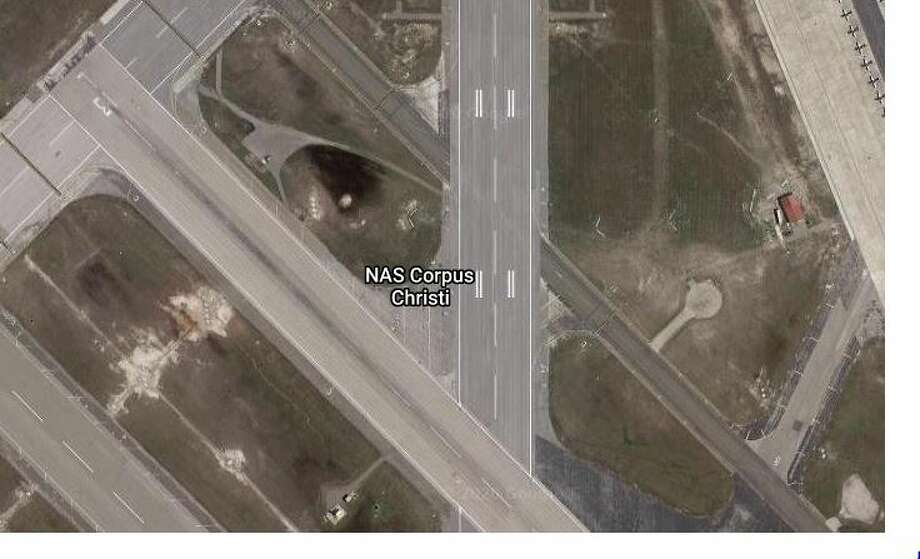 A naval air station in Texas went on lockdown Thursday morning after an active shooter was reported near one of the facility's gates. Photo: Google Maps