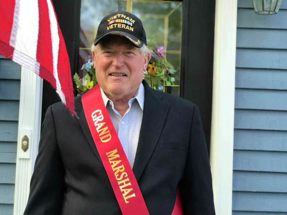 Allan Bixler, a Darien resident who is now 74, was recently selected as grand marshal of the 2020 Darien Memorial Day Parade. Photo: Contributed Photo / / Connecticut Post