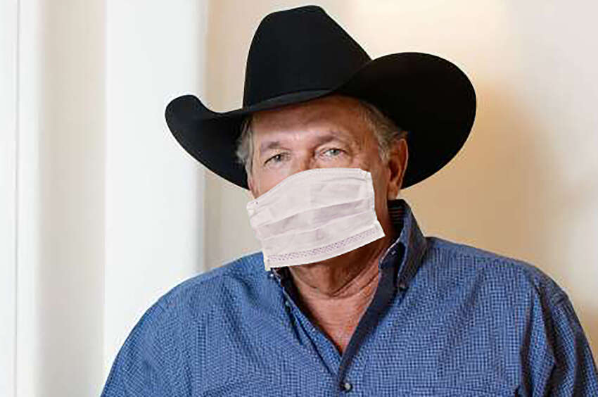 George Strait who recently sold one area mansion and moved to another.
