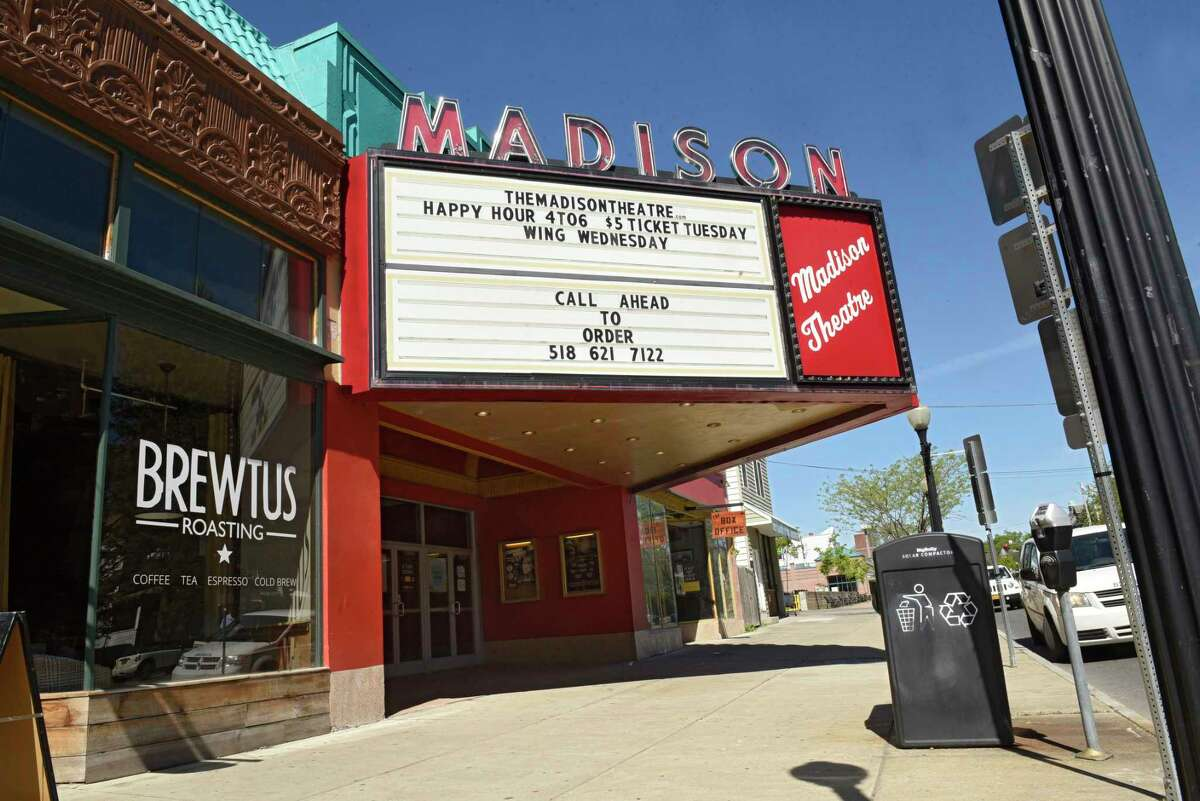 The former Brewtus Roasting coffee shop next to the Madison Theatre in Albany is being taken over for the second location of Troy-based Bard & Baker: Board Game Cafe. (Lori Van Buren/Times Union)