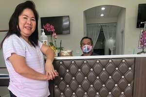 It was important for Andre and Francy Tran to reopen S&A Nails in Kingwood after Harvey brought 4 feet of water into their business nearly three years ago.