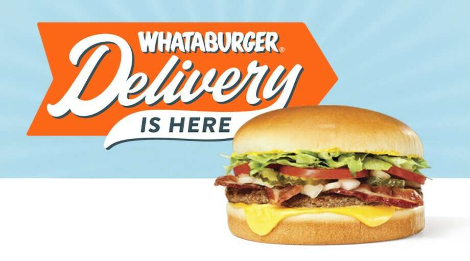Local Whataburger fans will no longer need to leave their homes to satisfy their cravings. San Antonio is one of the first places in the chain where Whataburger rolled out the new delivery option, the company said in a news release Thursday. Photo: Courtesy, Whataburger