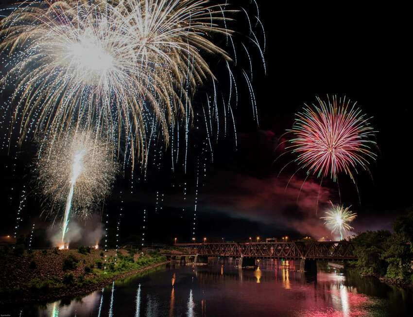 One of the state's finest July 4 fireworks display which brings thousands to downtown Derby and Shelton as the two cities alternating coloring the skies has been canceled this year because of COVID19 restrictions, said Derby Mayor Richard Dziekan