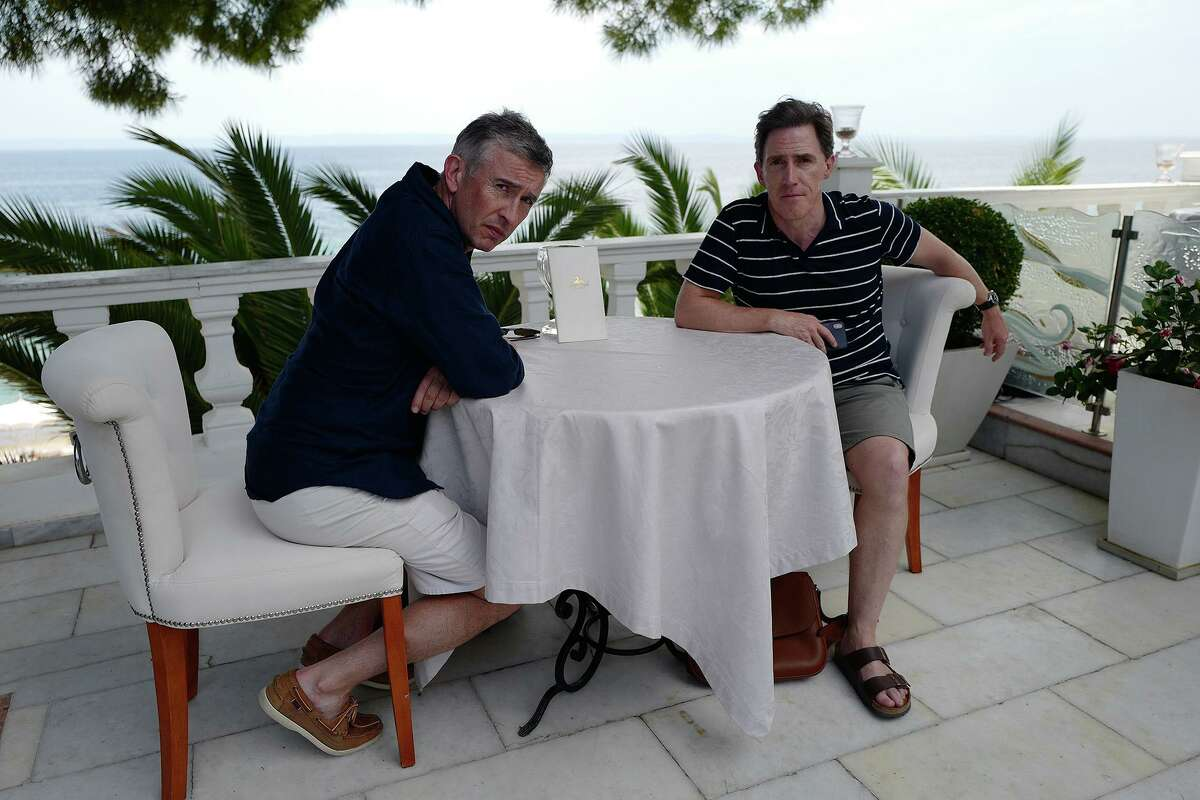 Steve Coogan, left, and Rob Brydon in