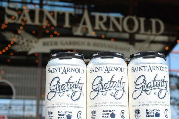 Saint Arnold will donate 100% of the proceeds of Gratuity, the brewery's new pale ale, to Houston Shift Meal.