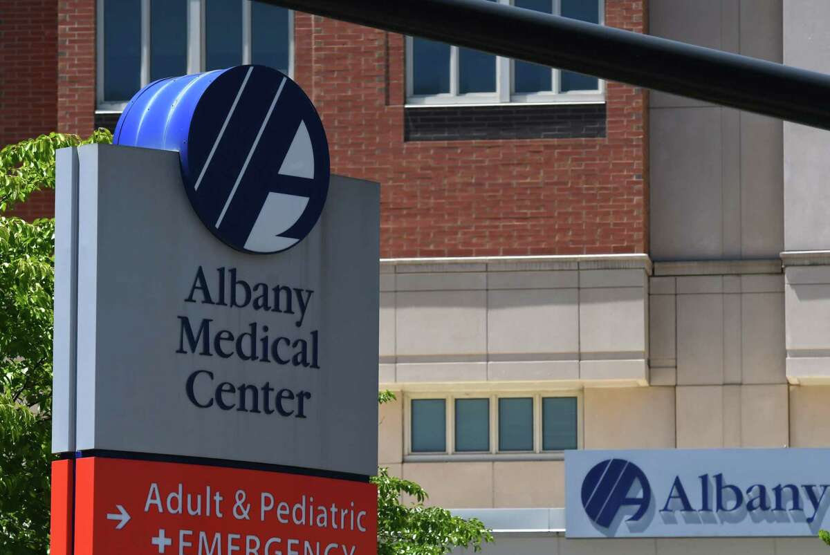 Exterior of Albany Medical Center on News Scotland Avenue in Albany, N.Y. (Will Waldron/Times Union)