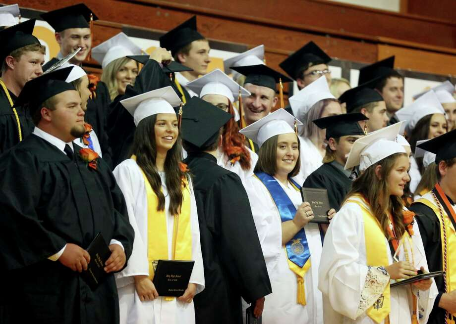 Ubly High School has scheduled its graduation ceremony for Sunday, June 28, with a backup date of Sunday, July 12. (Tribune File Photo)