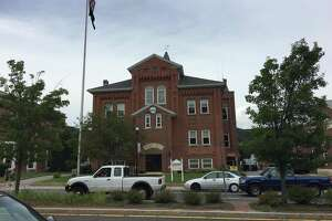 The Winsted Town Hall.
