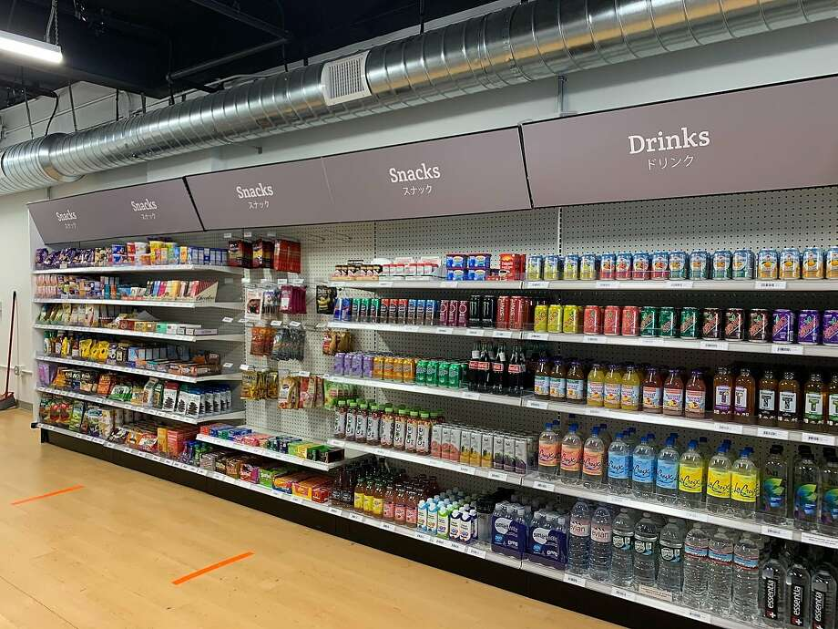 Standard Cognition's cashier-less, autonomous grocery store on Market Street has reopened, after adding safety features and more items for sale. Photo: Standard Cognition