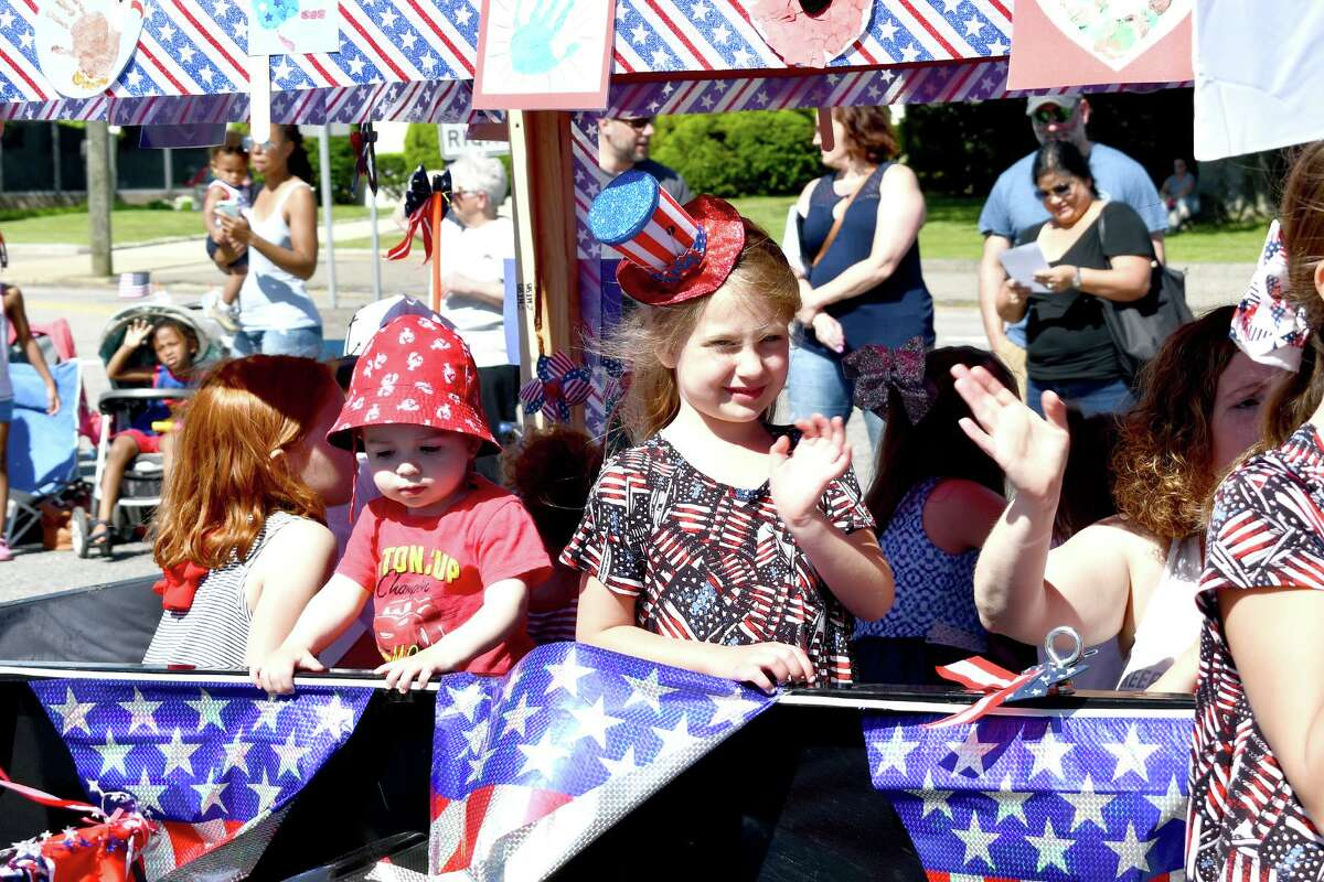 Children on floats were part of Torrington's annual Memorial Day parade in 2019. Marching bands, fire departments and companies, drum corps, dignitaries and school and civic groups participate in the city's parade, which also includes ceremonies honoring veterans at Coe Memorial Park.