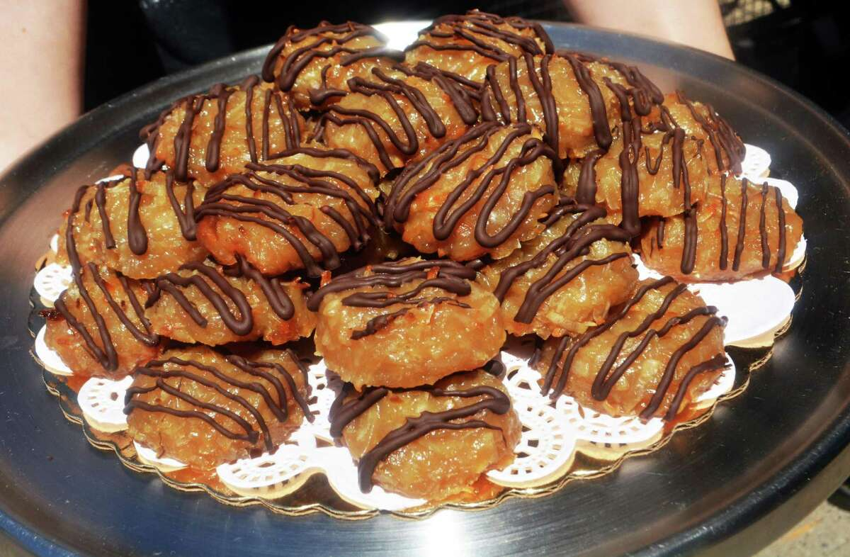 ION Restaurant on Main Street in Middletown chocolate-covered macaroons are a hit with diners.